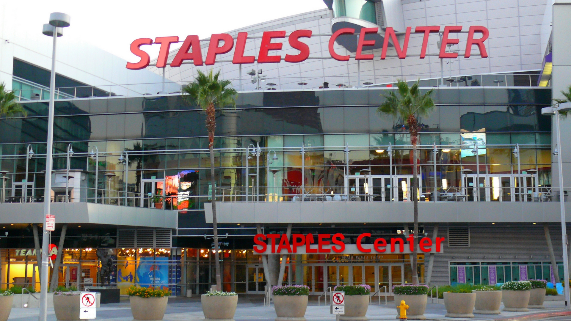 The Staples Center
