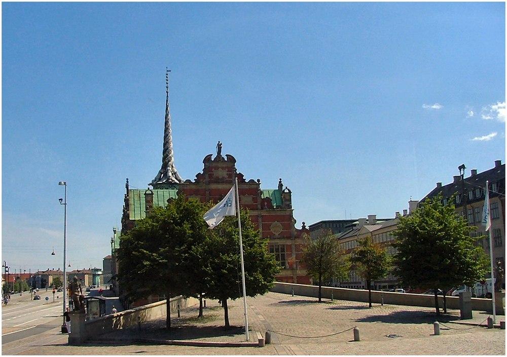 The Stock Exchange in Copenhagen from the bus.