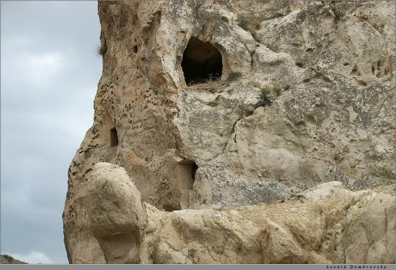 The stone skull
