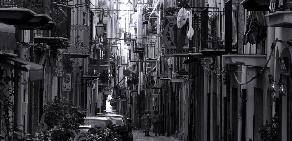 the streets of cefalu