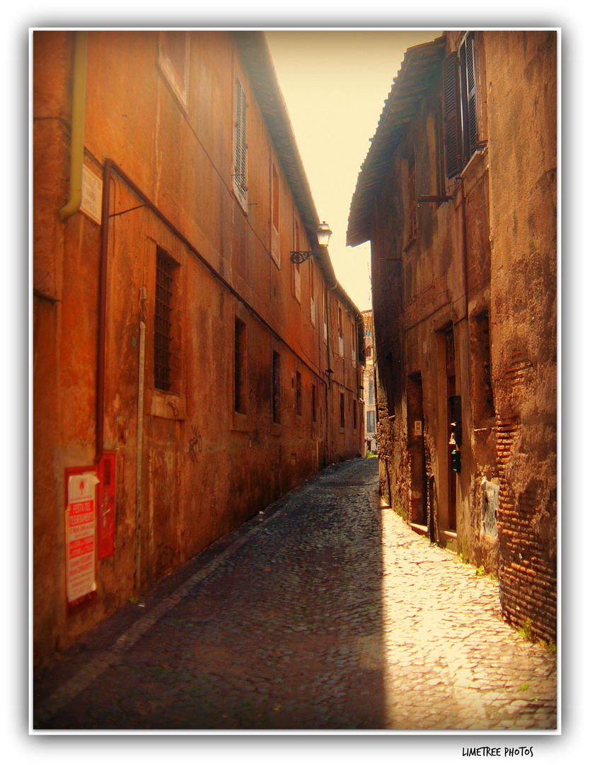 The Streets of Trastevere