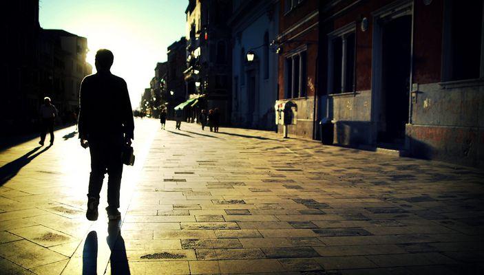 The streets of Venezia