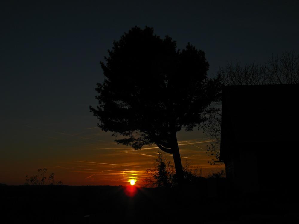 the sun go's down