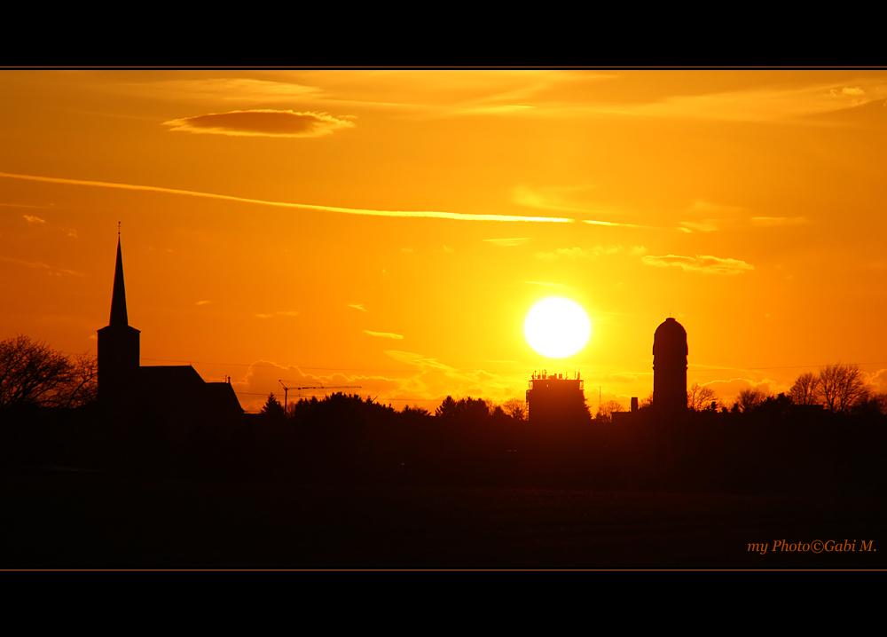 ~the sunset~