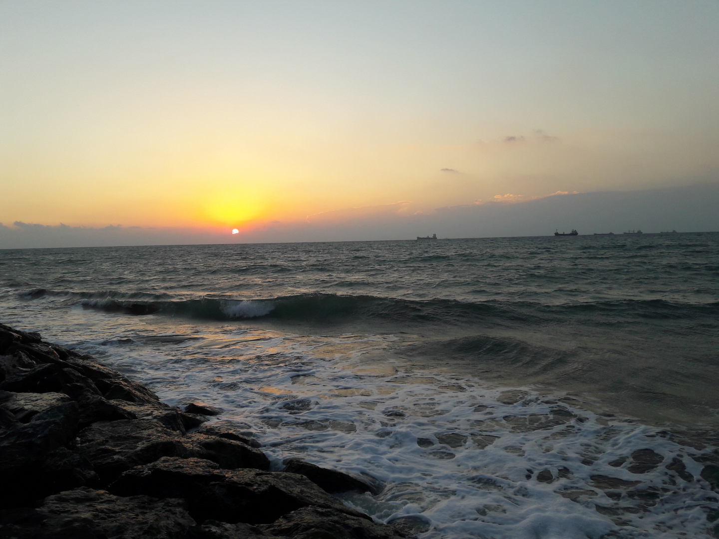 The Sunset in iskenderon
