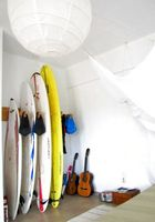 the surfer`s room.