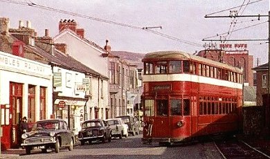 the swansea to mumbles tram