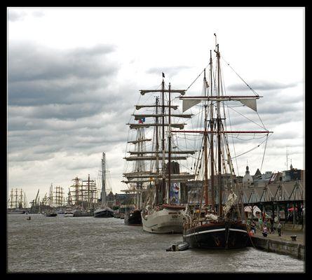 The Tall Ships Races, Antwerpen, Belgium 10-13 juli 2010