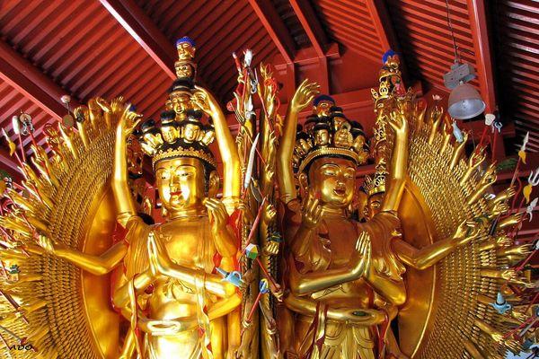 The Thousand Hands Buddha