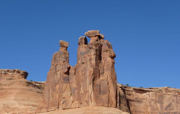 The Three Gossips - Arches NP, Utah