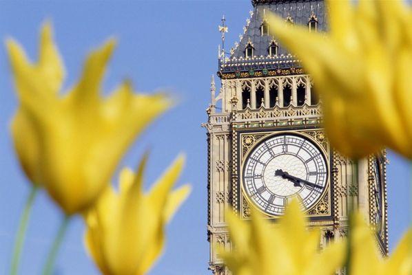 The time at Big Ben