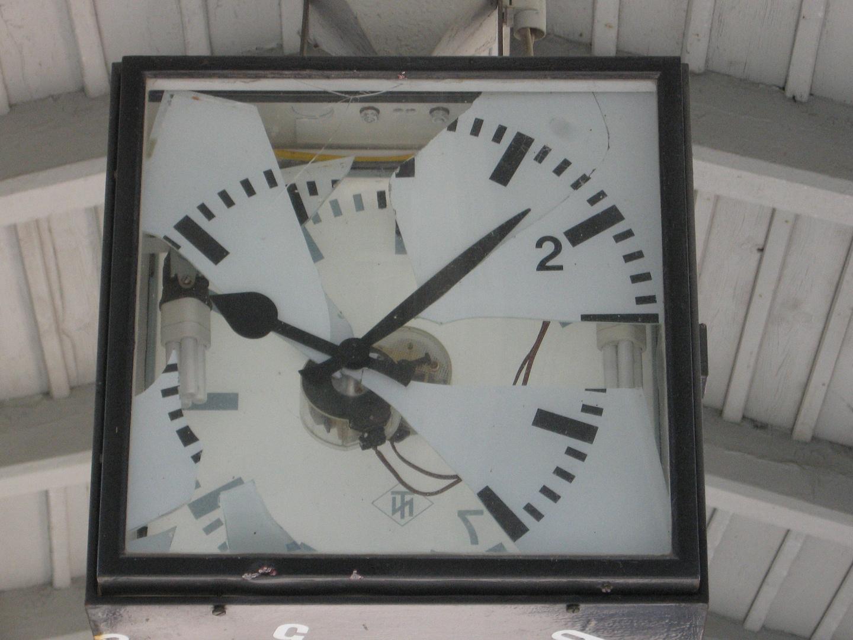 The time is over...oder....wir leben in einer kaputten Zeit.