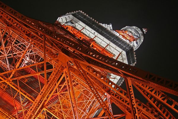 The Tokyo Tower.....