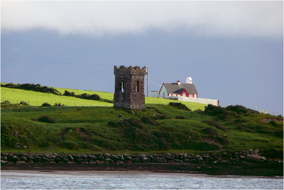 The Tower and the Lighthouse / Dingle / Southwest Ireland