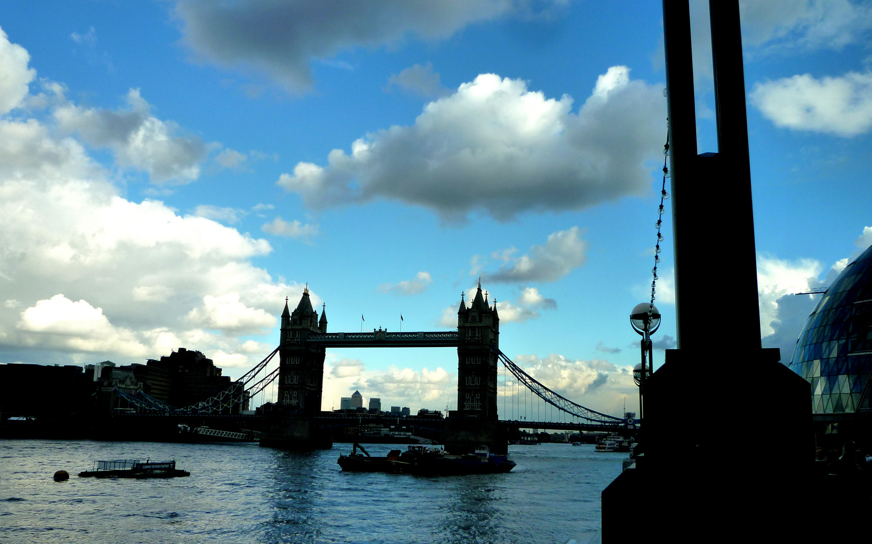 The Tower Bridge........