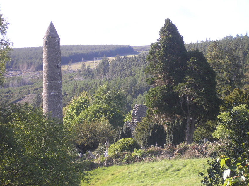The Tower of Glendalough