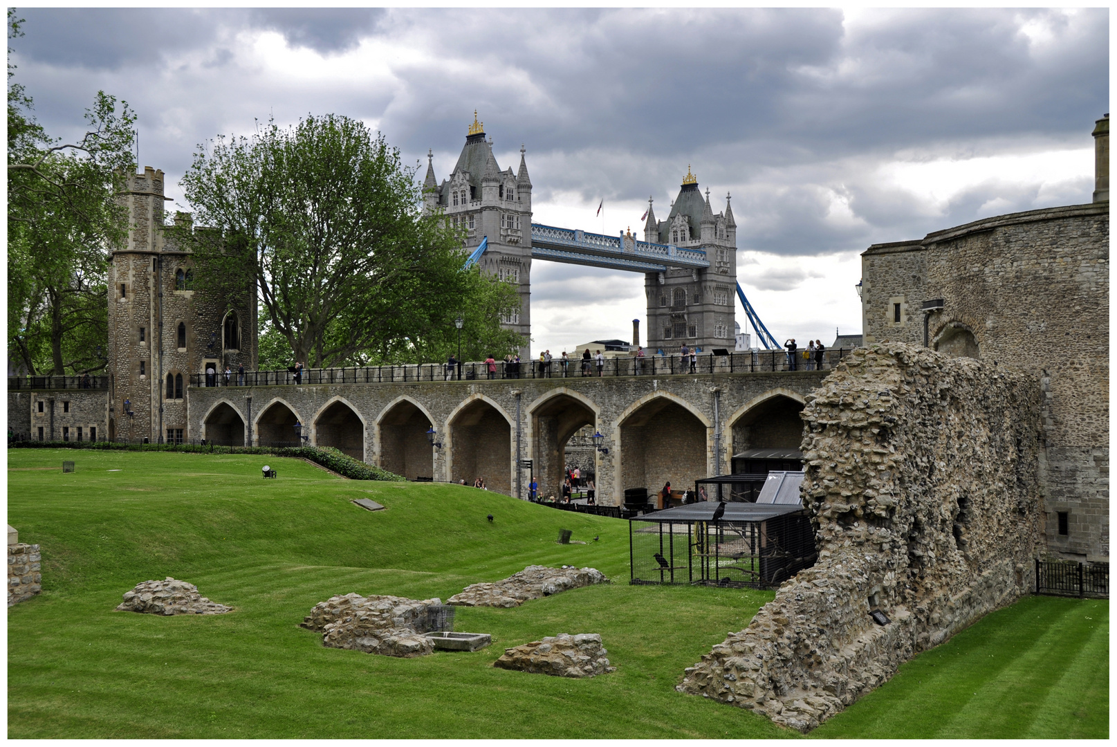 The Tower of London mit Tower Brigde