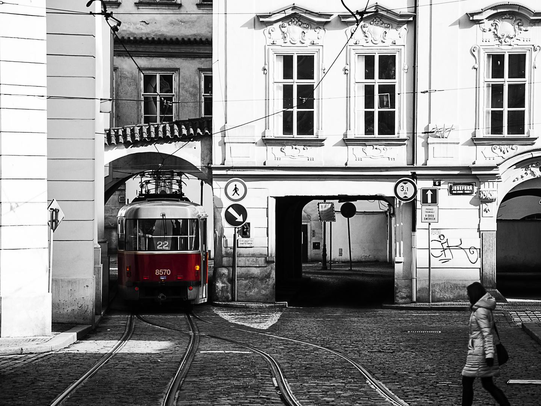 the tram