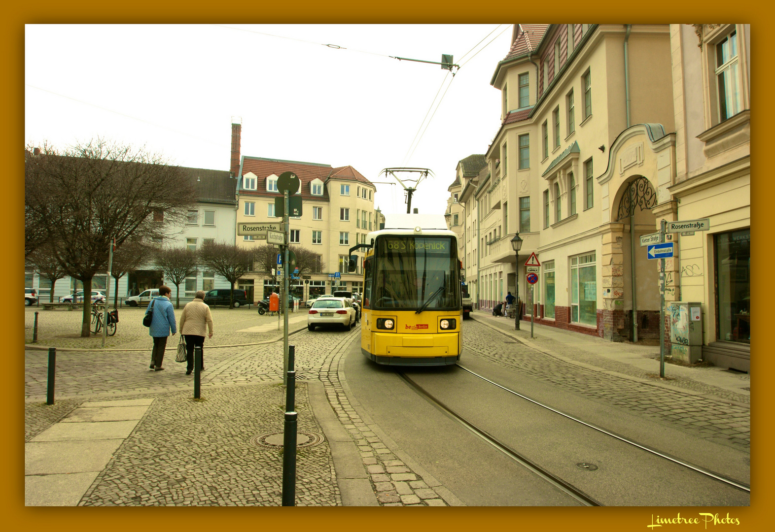 The Tram on Kietzer Strasse