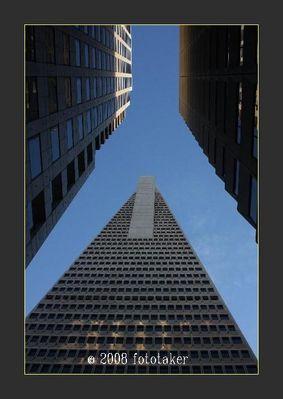 The Transamerica Pyramid in San Francisco (The Jet)