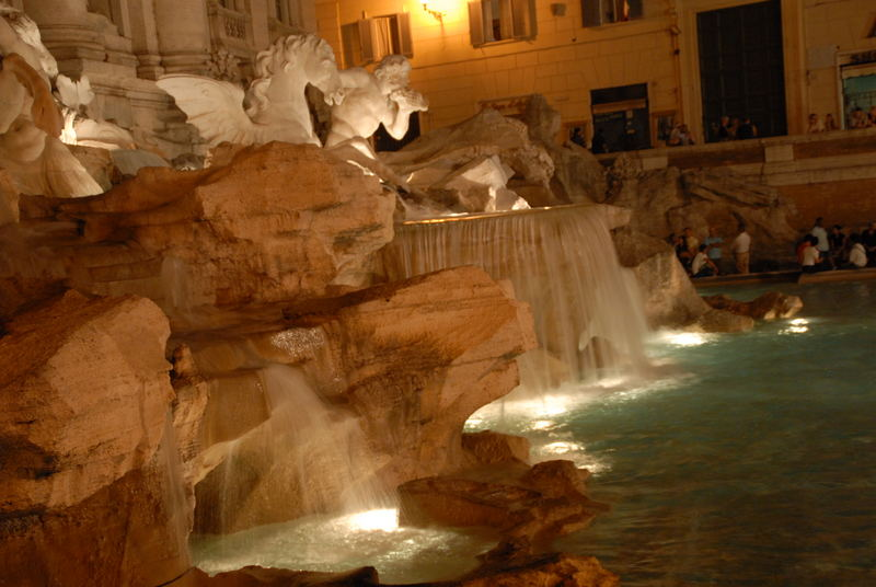 The Trevie Fountain
