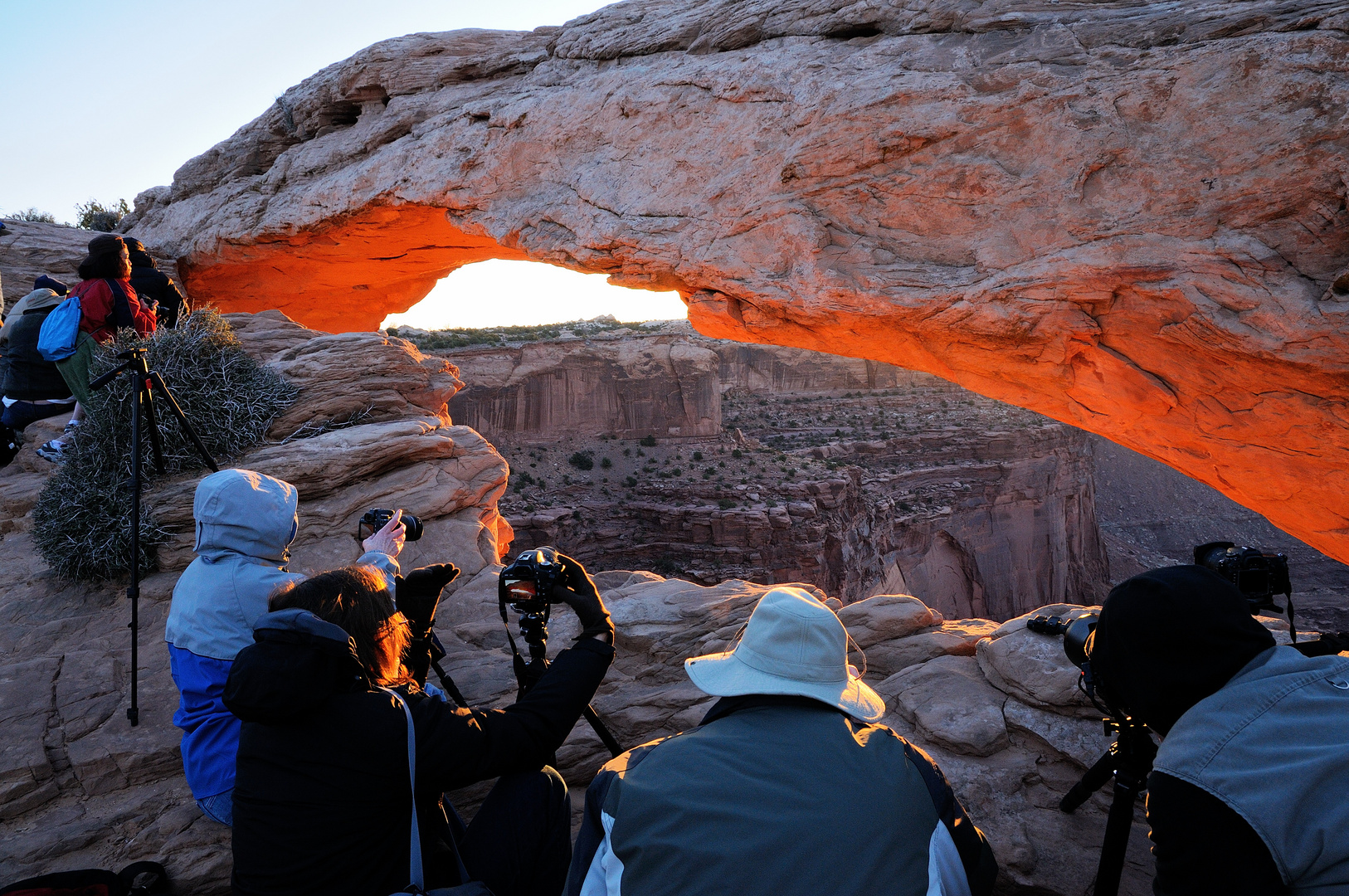 The Truth About Mesa Arch ;)