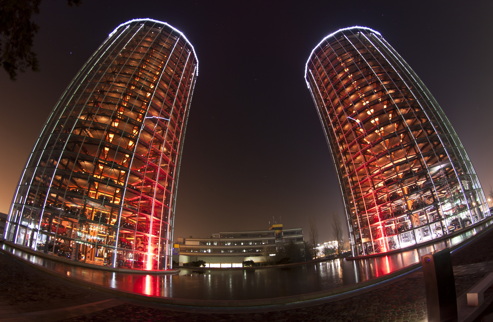 the two towers @ Autostadt