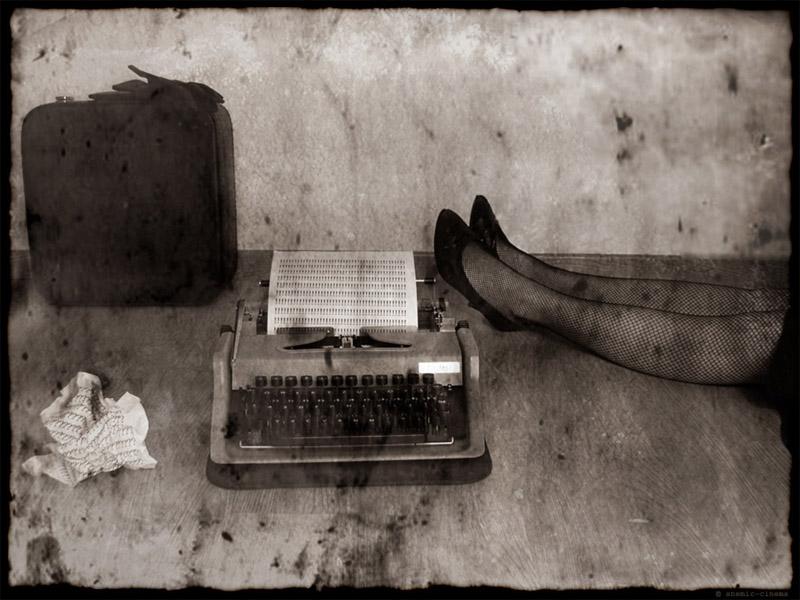the typist.