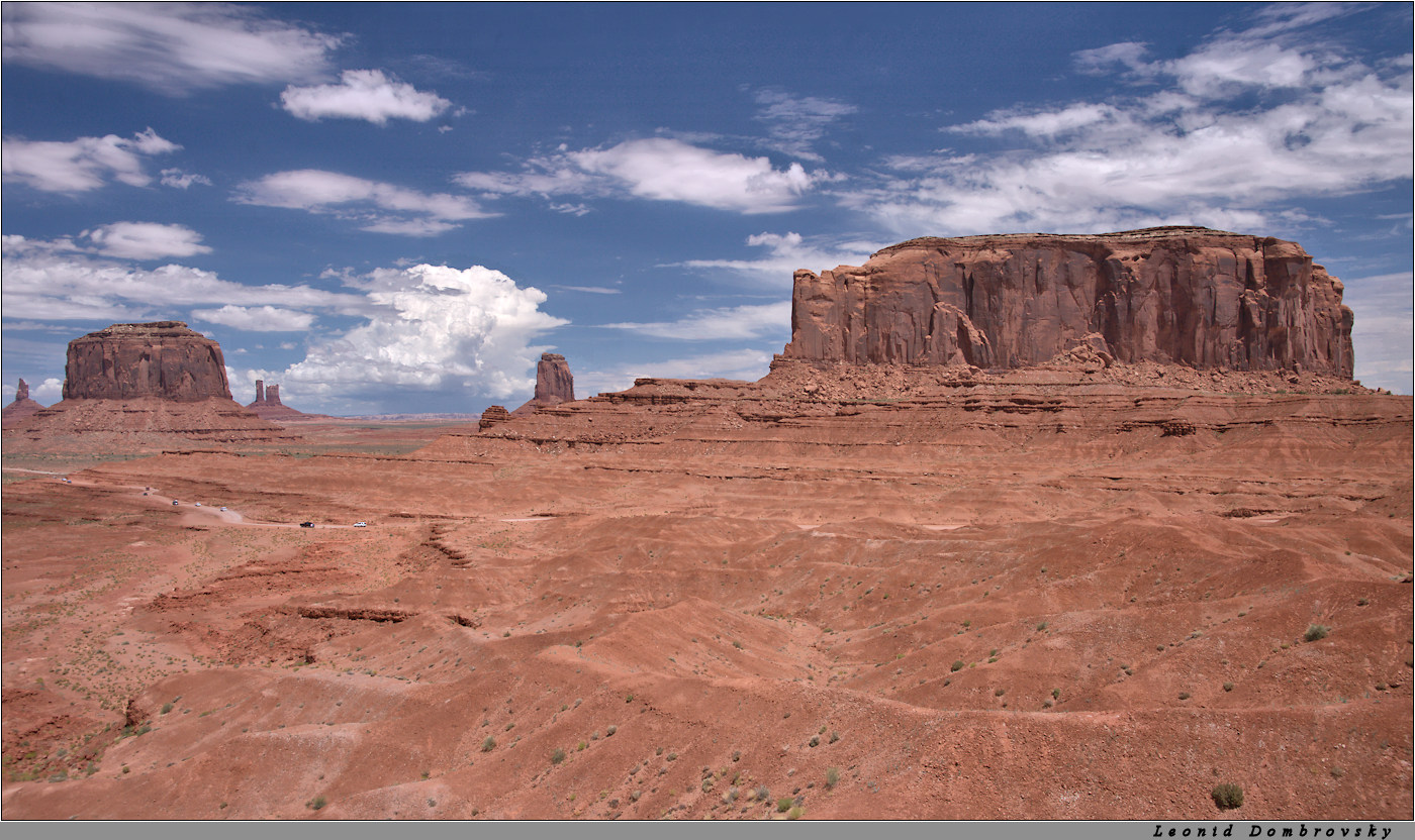 The vastness of the Navajo reservation