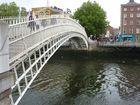The very famous Halfpenny Bridge