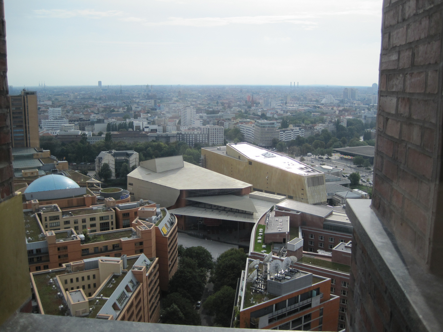 .. the view from koll hoff tower ...