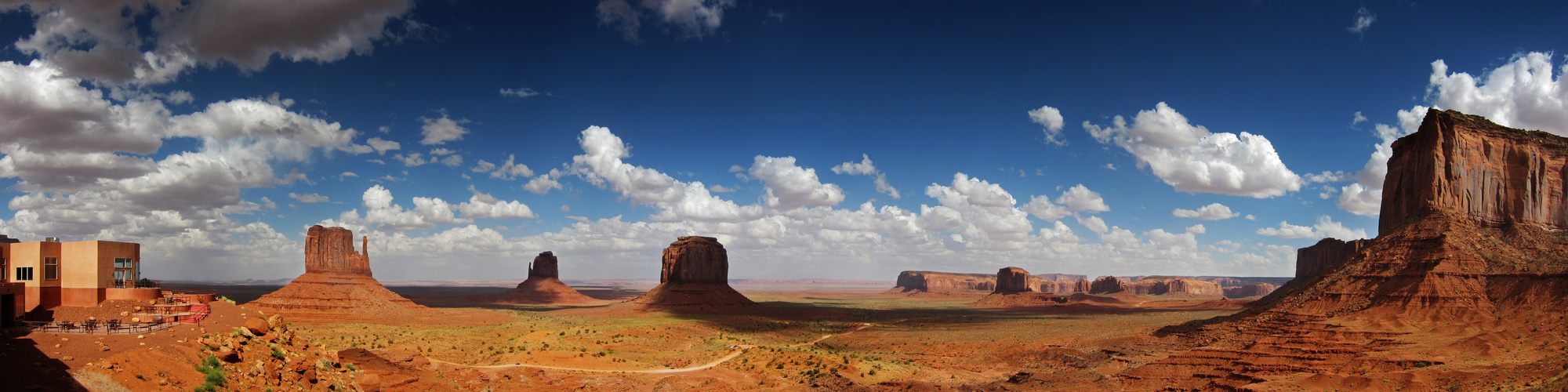 """""""The View"""" - Monument Valley"""