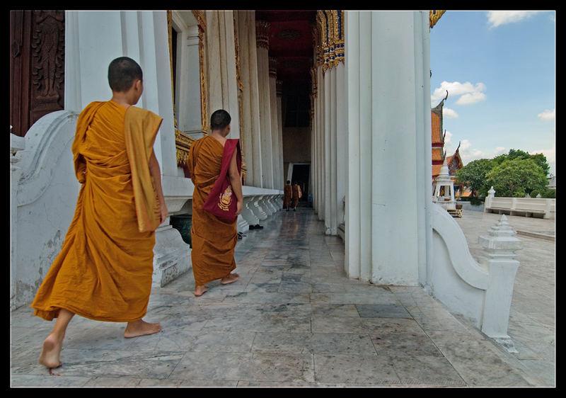 The walk - Wat Thammamongkhon