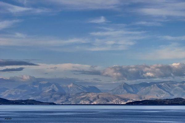The Waters Around Corfu