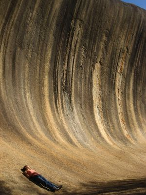 The Wave Rock
