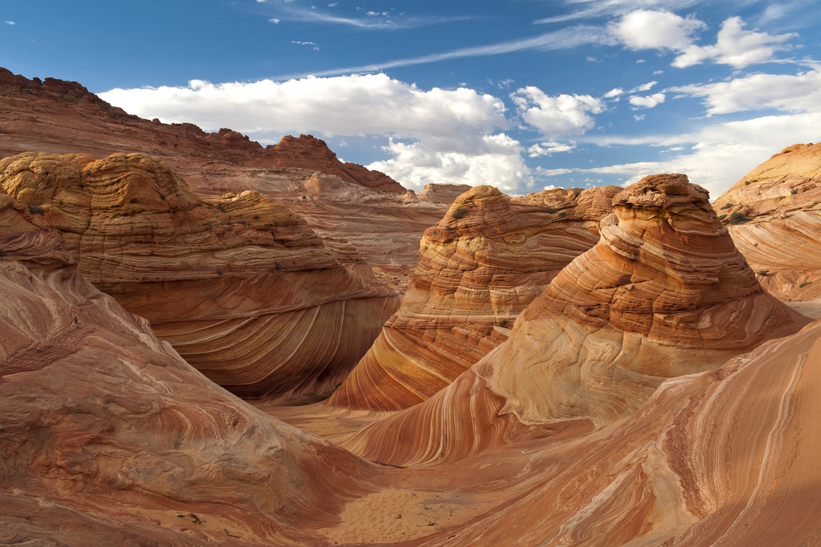 The Wave, Vermilion Cliffs