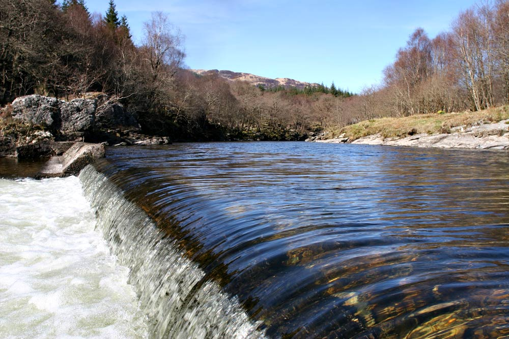 The Weir at Glen Orchy