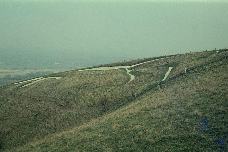 The White Horse Hill in Uffington
