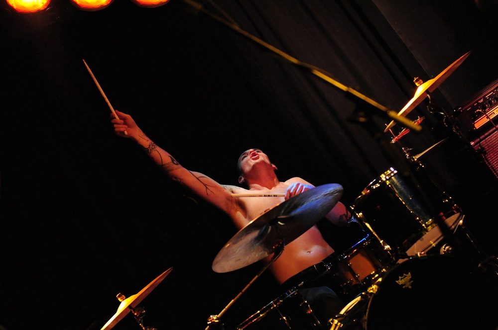 The Widowbirds, Live@Kofferfabrik FÜ, Shane Steel O'Neill on Drums