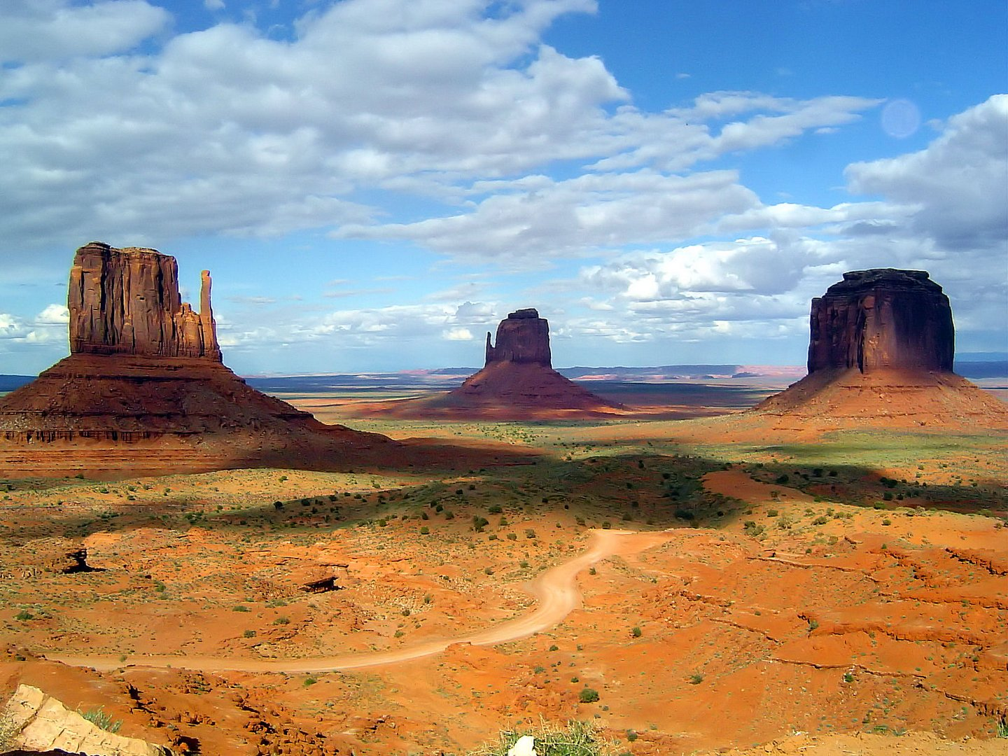 The Wild West Monument Valley