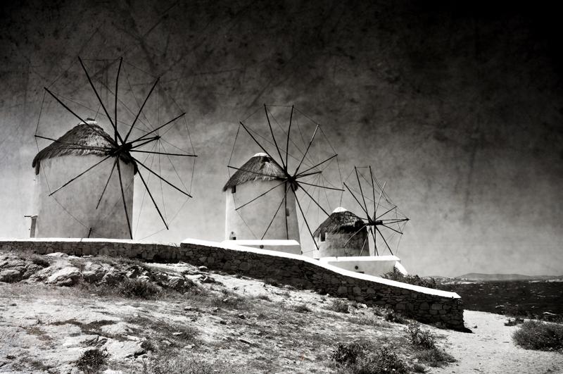 The windmills of Mykonos 2