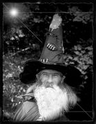 The Wizard in Black and white.