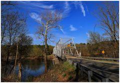 The wooden Bridge at Dingman's Ferry