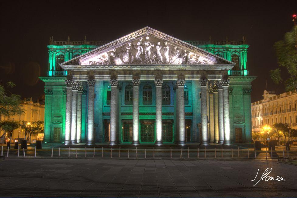 Theater in Guadalajara (Mexiko)