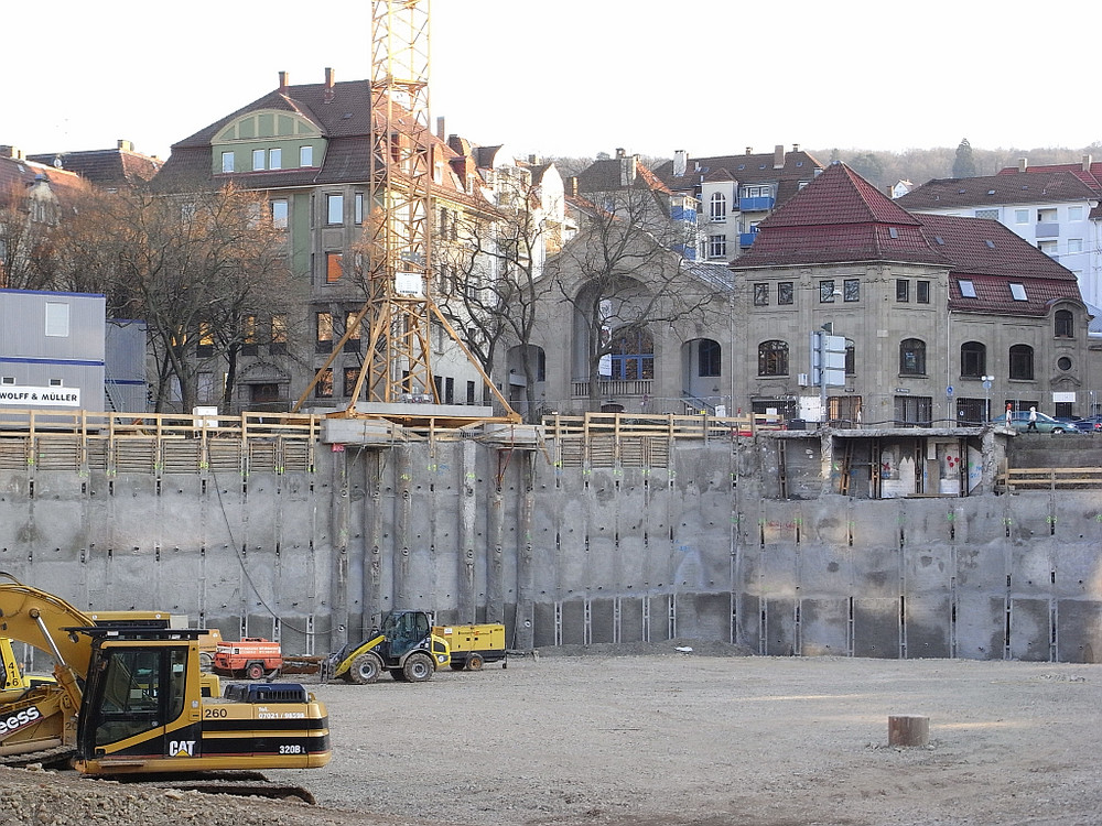 Theater Rampe beim Marienplatz