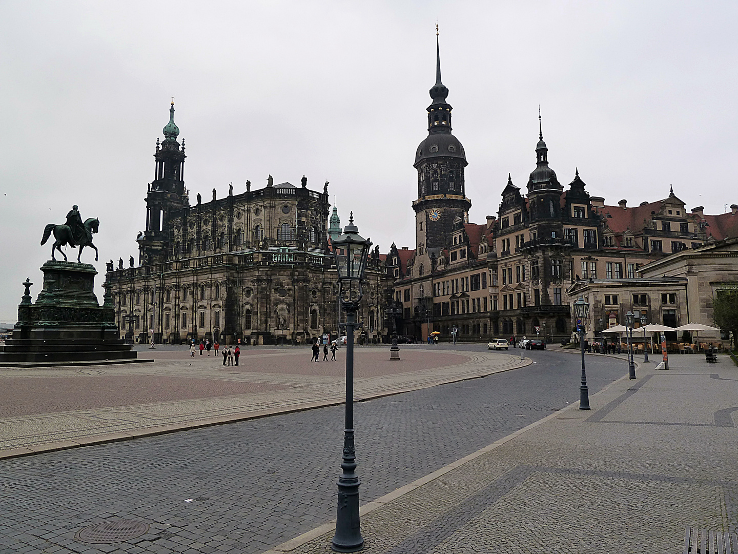 Theaterplatz in Dresden