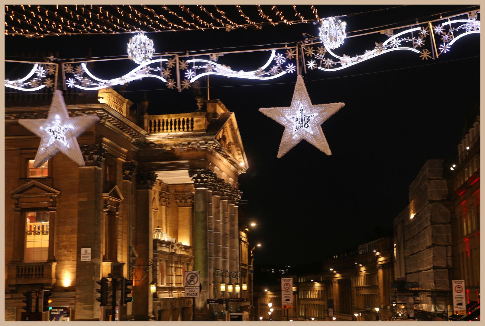Theatre Royal Newcastle at Christmas