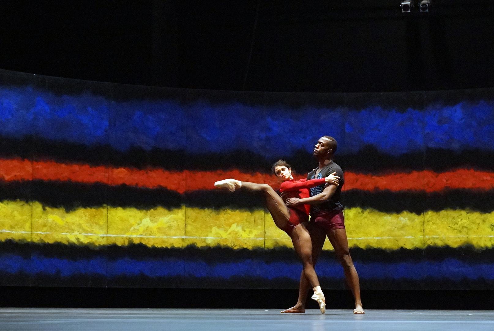 Theatro del Liceu - Das Aufwärmen vor dem Auftritt