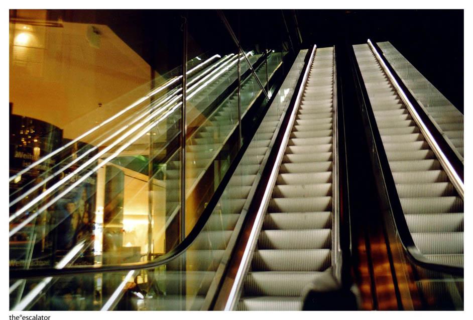 the~escalator