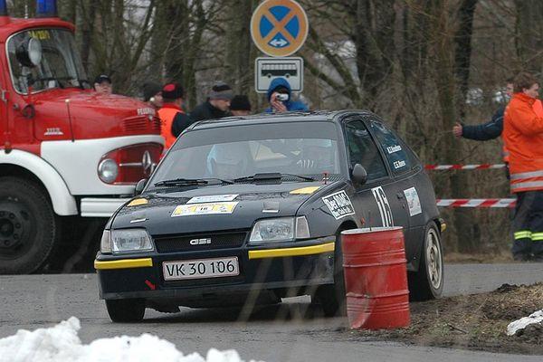Theibel Knudsen/Gantzhorn-Ibsen - Wikinger Rallye 12.03.2005